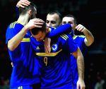 BOSNIA AND HERZEGOVINA-ZENICA-FUTSAL-FIFA WORLD CUP-QUALIFICATION