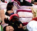 CHINA TIBET ZHAM NEPAL EARTHQUAKE