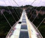 CHINA HUNAN ZHANGJIAJIE GLASS BRIDGE