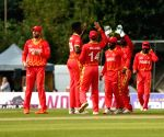 Zimbabwe defend 13 runs in final over to beat Scotland