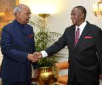 Zimbabwe Vice President calls on President Kovind