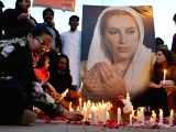 Activists of the Pakistan Peoples Party light candles on the death anniversary of former prime minister Benazir Bhutto in eastern Pakistans Lahore on Dec. 27, 2015. ...