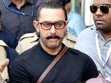 Aamir Khan arrives in city