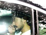 Aamir Khan at Rani Mukherjee's father Ram Mukherjee last Rite