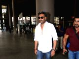 Ajay Devgn seen at airport