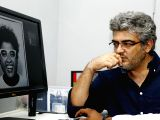 Ajith during a shooting