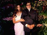 Actor Amitabh Bachchan along with his daughter Shweta Bachchan-Nanda at the wedding reception of Indian cricket captain Virat Kohli and actress Anushka Sharma in Mumbai on Dec 26, 2017.
