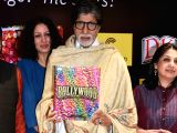 Actor Amitabh Bachchan at the launch of the book Bollywood in Mumbai on Dec 3, 3017.