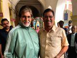 Amitabh Bachchan meets Prof. Vijay Barse
