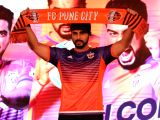 Actor and FC Pune City co-owner Arjun Kapoor during a programme in Mumbai on Oct 26, 2017.
