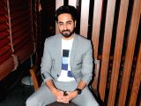 Ayushmann Khurrana during a programme in Mumbai