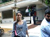 Ananya Pandey seen at Mumbai's Bandra