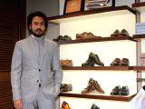 Irrfan Khan visits Johnston & Murphy store