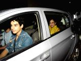 "Special screening of film ""Dhadak"" - Ishaan Khatter and Neelima Azeem"