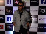 Actor Jackie Shroff at ALT Balaji's IWM Digital Awards in Mumbai on March 10, 2018.