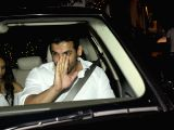 John Abraham hosts a party at his office