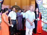 Panaji (Goa): IFFI-2015 - Red Carpet - Subhash Ghai, Nana Patekar