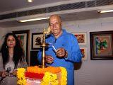 Prem Chopra inaugurates art exhibition