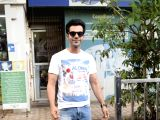 Rajkummar Rao seen at Mumbai's Juhu