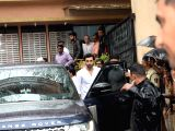 Actor Ranbir Kapoor attends the funeral of late actor-filmmaker Shashi Kapoor in Mumbai on Dec 5, 2017. The romantic screen icon of the 1970s and early 1980s died aged 79. The cause of death ...