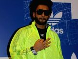 Ranveer Singh during a store launch