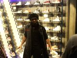 Ranveer Singh during the launch of Adidas store