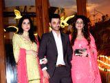 Sanjay Kapoor and Maheep Sandhu at a wedding reception