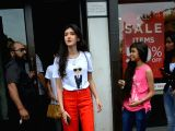 Shanaya Kapoor seen at Mumbai's Bandra