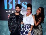 "Vogue BFFs"" - Shahid Kapoor, Mira Rajput and Neha Dhupia"
