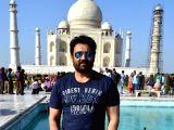 Shekhar Suman visits Taj Mahal