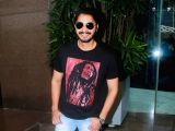 Shreyas Talpade at Restaurant