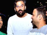 Suniel Shetty arrives for Isha Ambani-Anand Piramal's pre-wedding functions