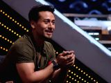 Actor Tiger Shroff on the sets of DID Little Master in Mumbai on March 18, 2018.