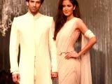 Aditya and Katrina at Tarun Tahiliani`s fashion show