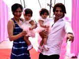 Karanvir Bohra and Teejay Sidhu's babies birthday celebration