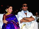 Actors Madhuri Dixit-Nene and Jackie Shroff at the