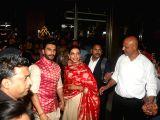 Ranveer Singh, Deepika Padukone arrive in Mumbai