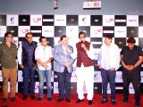 "Song launch of film ""102 Not Out"" - Rishi Kapoor, Amitabh Bachchan, Jimit Trivedi, Umesh Shukla and Ganesh Acharya"