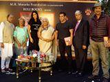 Actors Salman Khan and Katrina Kaif with Bina Kak at the launch of her book Silent Sentinels of Ranthambhore in Mumbai on Dec 13, 2017.