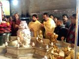 Sanjay Dutt, Shekhar Suman at Mankameshwar Temple