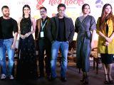 Actors Sohail Khan, Kriti Sanon, Salman Khan, Daisy Shah and Sonakshi Sinha during a press conference regarding Da-Baang tour in New Delhi on Dec 9, 2017.