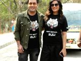 Varun Sharma, Richa Chadda at the birthday celebration of Bijli