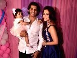 Karanvir Bohra and Teejay Sidhu's babies birthday celebration - Adaa Khan