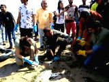 Earth Day - Dia Mirza, Aditya Thackeray participate in the clean-up of Dadar beach