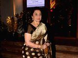 Asha Parekh at a wedding reception