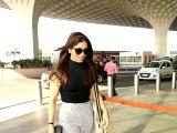 Bhumi Pednekar seen at airport