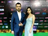 IIFA Awards 2018 - Dia Mirza and Sahil Sangha