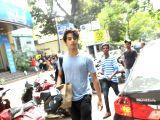 Ishaan Khatter seen at Mumbai's Bandra