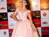 Actress Jacqueline Fernandez at the red carpet of Zee Cine Awards 2018 in Mumbai on Dec 19, 2017.