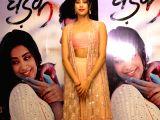 "Ishaan Khattar, Janhvi Kapoor during the promotions of ""Dhadak"